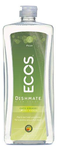 Earth Friendly ECOS? Dishmate Natural Pear -- 25 fl oz - 2pc
