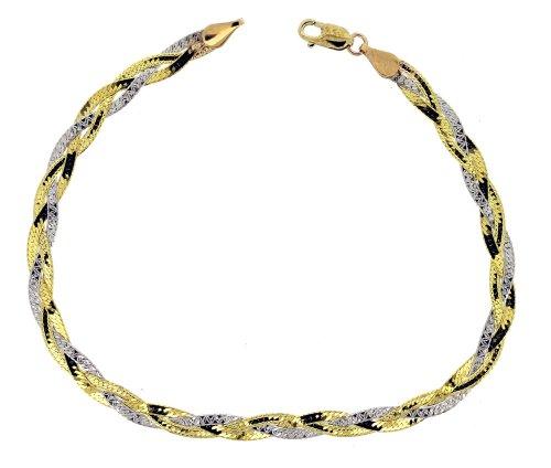 Bracelet - Femme - Or Jaune 375/1000 (9 Cts) 2.05 Gr