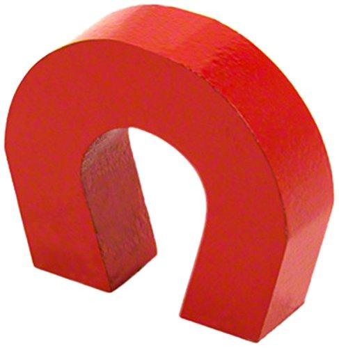 6 opinioni per F4m 803–1- Calamita a forma di ferro di cavallo, colore: Rosso