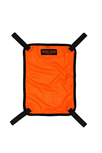 Orange Aglow Blaze Orange Safety Panel (Large) (Blaze Orange Safety Vest)
