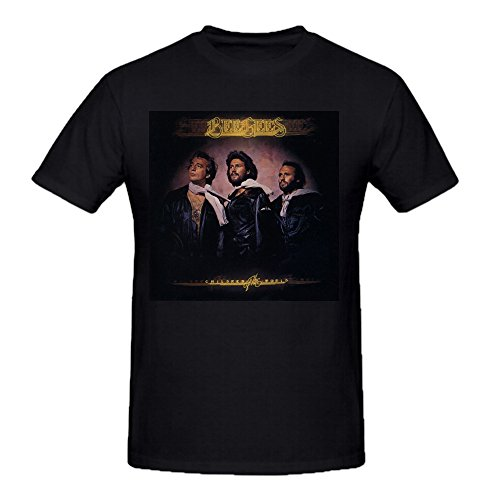 Bee Gees Children Of The World Mens Funny T Shirts O Neck Black