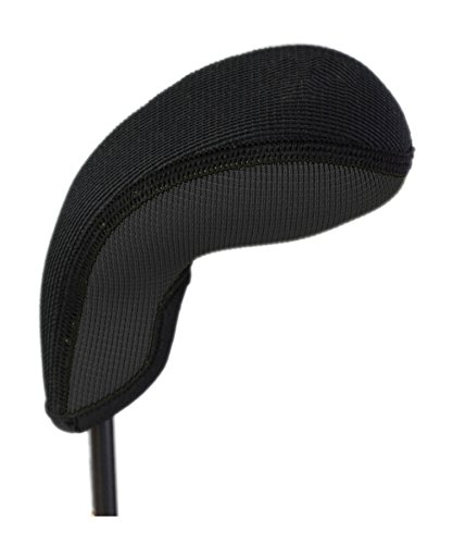 (Stealth Club Covers 18210 No Print Generic for W-SW-PW Golf Club Head Cover, Black Solid)