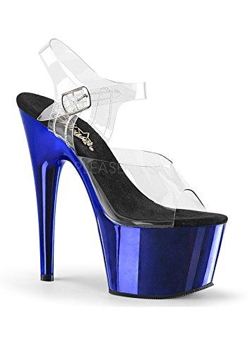 Chrome Sandali Donna blue Pleaser Clr FPAZvqx