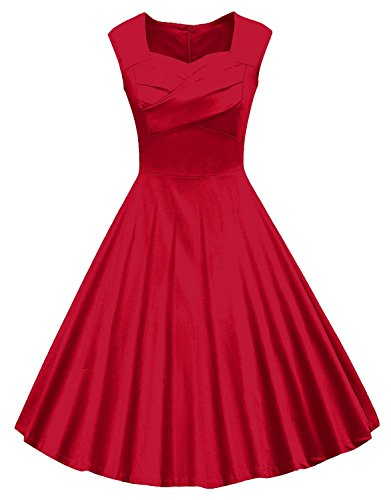 Womens 1950s Vintage Sleeve Cocktail
