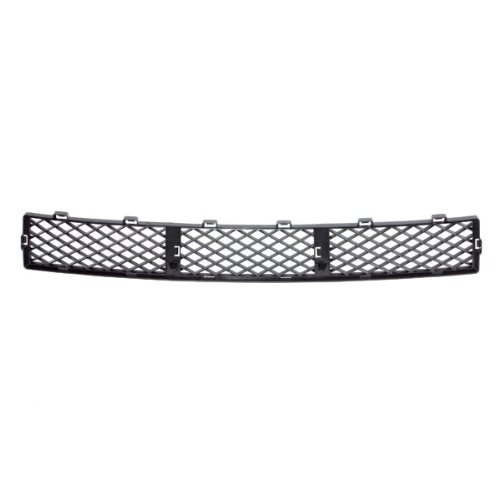CarPartsDepot, Front Bumper Cover Center Grille Grill New Replacement Matte Black Mesh Insert, 363-18125-10 FO1036124 8S4Z17K945AA