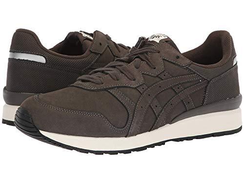 [Onitsuka Tiger(オニツカタイガー)] ユニセックスランニングシューズ?スニーカー?靴 Tiger Ally Dark Sepia/Dark Sepia Men's 5, Women's 6.5 (23cm(レディース23.5cm)) Medium