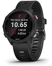 Garmin Forerunner 245 Music GPS Running Smartwatch with Music, Black
