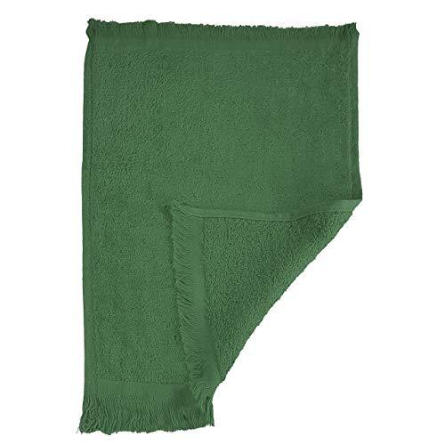 ((3 Pack) Set of 3- Promotional Priced Fingertip Towels (Forest Green))