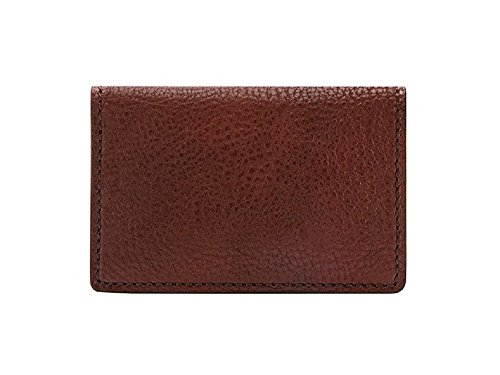 Bosca Men's Washed Collection - Full Gusset Card Case (On...