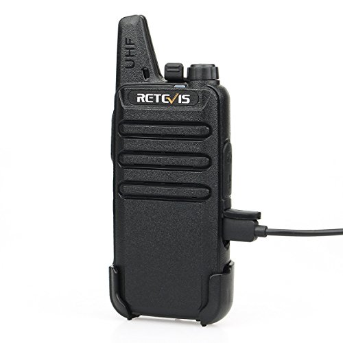 Retevis RT22 Two Way Radios Rechargeable Walkie Talkies 16 CH VOX Channel Lock Emergency Alarm 2 Way Radio(10 Pack) by Retevis (Image #8)