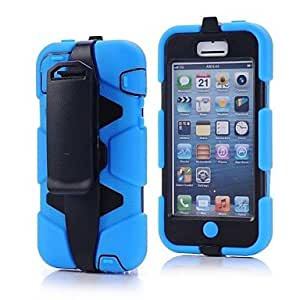 LIMME ships in 48 hours High Impact Dirt Shock Proof Case Cover+Belt Clip Holster for iPhone 5C , Purple