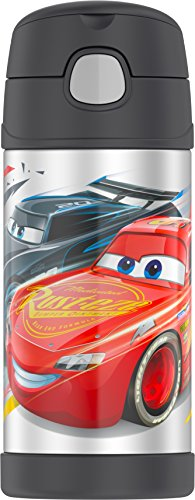 Thermos Funtainer 12 Ounce Bottle, Cars by Thermos