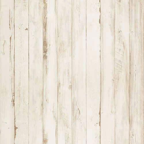 アクセントクロスセット ホワイトグレーウッド柄セレクション/ WVP9163 (生のり付壁紙15m+施工道具7点セット) B01N8ZZ9AY