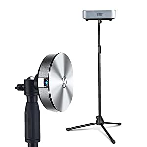 Mini Soporte de trípode para proyector, Soporte de trípode para cámara con Tornillo de 1/4 a 1,5 Metros de Altura