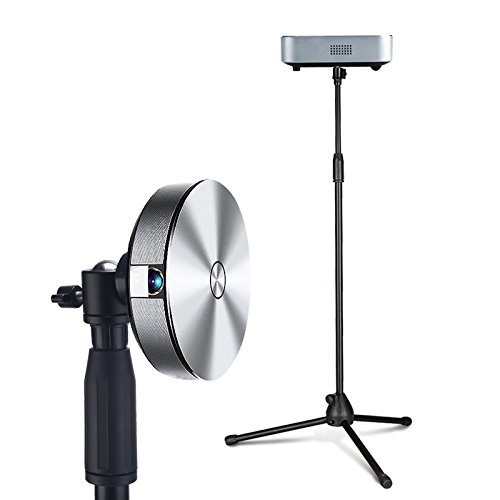 1.5M / 4.9ft Lightweight Tripod Stand Mount Holder with 1/4 screw for mini Projector by Bulk4buy