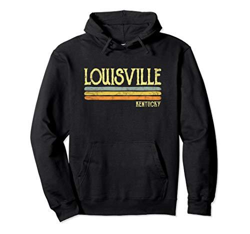Vintage Louisville Kentucky Ky Hoodie Love Gift Souvenir