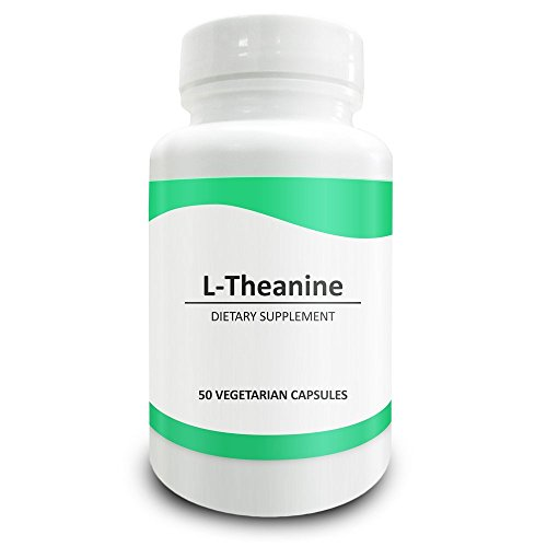 Pure Science L-Theanine Supplement 400 mg – Supports Cognition, Improves Mental Performance and Mood - 50 Vegetarian (Gumlet Gum)