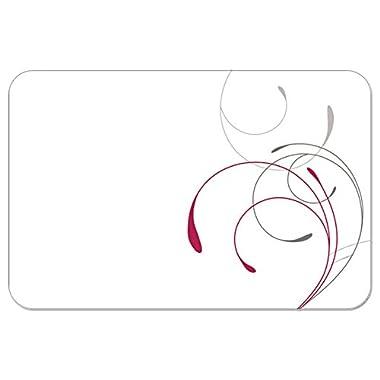 4 Corelle Coordinates Reversible Washable Plastic Placemats, Splendor