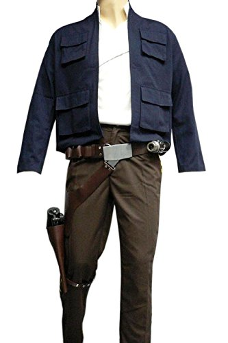 [Star Wars Han Solo ESB Full Costume Belt Holster Droid Caller Set (XL)] (Han Solo Adult Costumes)