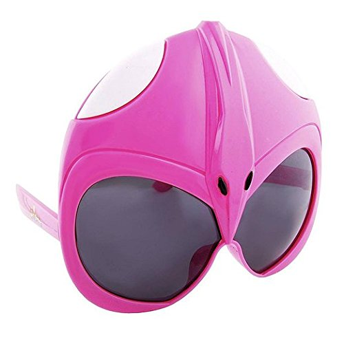 Pink Power Ranger Costumes Adults (Sun-Staches H2W Officially Licensed Pink Power Rangers Sunstaches Sunglasses)