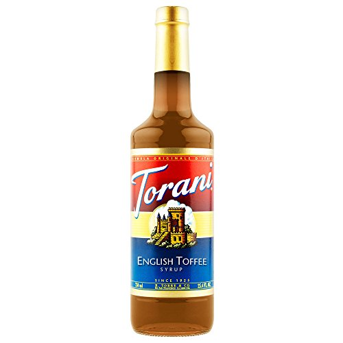 Torani Syrup, English Toffee, 25.4 Ounce (Pack of (English Toffee Syrup)
