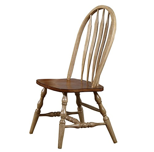 Winners Only Quails Run Arrow Back Dining Side Chair in Almond/Wheat - DQ1453SW