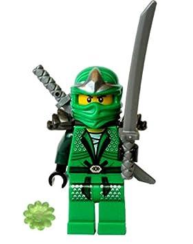 LEGO®Ninjago Lloyd ZX (Ninja Verde) con Armadura y Espadas ...