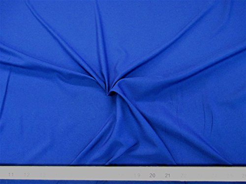 Discount Fabric Pongee Lining Material 62 inches wide Royal Blue (Royal Blue Lining)