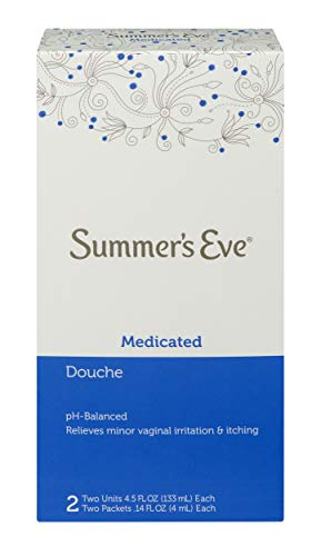Summer's Eve Douche | Medicated | 4.5 oz Size | Pack of 6 | pH Balanced, Dermatologist & Gynecologist Tested ()