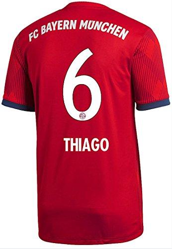 Jsy corta Jersey Thiago Fcb Adidas Hombres manga n5I8gTzxwq