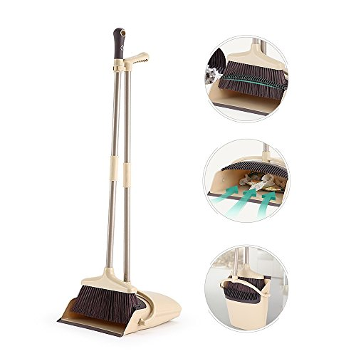 broom and dustpan with handle set - 5