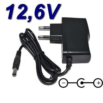 Top Cargador® Adaptador alimentación Cargador 12.6 V para ...