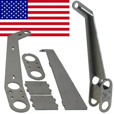Amazon com: Usa Made Double Reinforced King Link Pin Axle