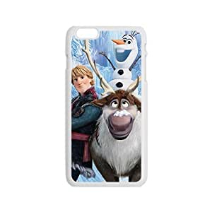 diy zhengCharming Frozen girl Cell Phone Case for iPhone 6 Plus Case 5.5 Inch