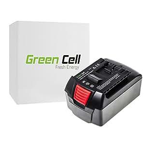 Green Cell® Batería de Herramienta Eléctrica para Bosch GBH 18 V-EC (Li-lon 3Ah 18V)