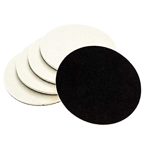 Glass Polishing Pads - Gold Label Detailing Glass Polishing Pad Discs for Use with Cerium Oxide 5 Pack | 3