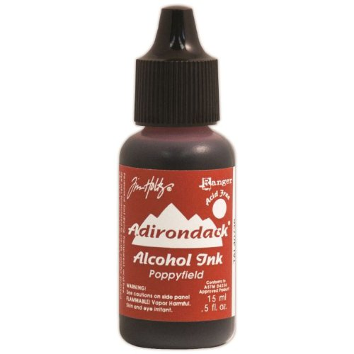Adirondack Lights Pads - Ranger Adirondack Lights Alcohol Ink, 0.5-Ounce, Poppyfield