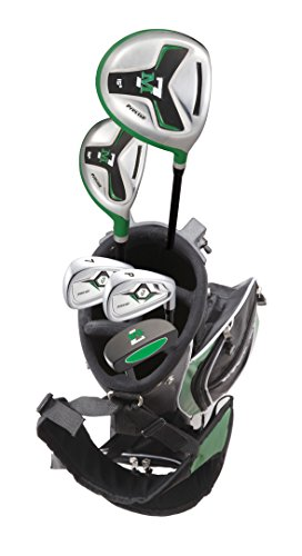 Precise M7 Junior Complete Golf Club Set for Children Kids - 3 Age Groups - Right Hand (Ages 6-8 Green, Right - Club Golf Green Kids
