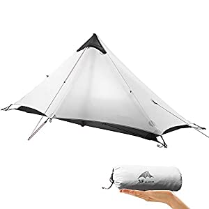 KIKILIVE New LanShan Outdoor Ultralight Camping Tent,1Person/2 Person Backpack tent Mesh Shelter-Perfect for Camping,Backpacking and Thru-Hikes