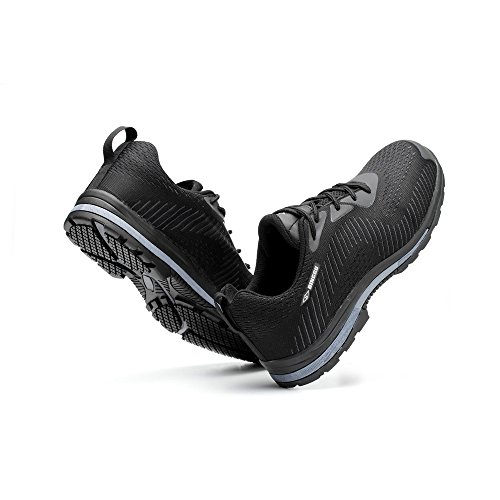 puncture steel work industrial unisex shoes 04 toe shoes proof safety amp;construction shoes Black 0qwdB