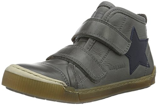 Bisgaard Shoe with velcro 40704216, Unisex-Kinder Hohe  Sneakers, Grau (400 Grey) 29