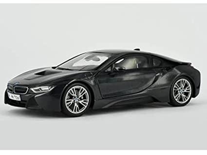 Amazon Com Bmw I8 Sophisto And Frozen Grey 1 18 Diecast Model Car