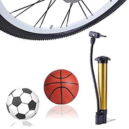 Mini Portable Hand Air Pump Inflator for Sports Ball Bicycle Cycling Tire