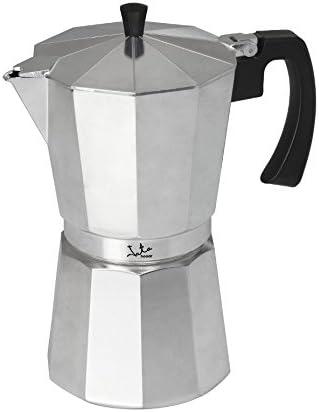 Jata Hogar Cafetera Italiana, Aluminio, Plateado ...