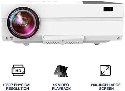 AI LIFE Proyector Full HD Proyector de Video Nativo de 1080P ...