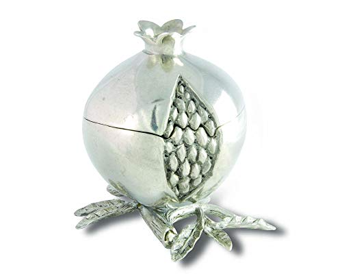 Salt Pepper Pewter Shakers (Vagabond House Pewter Pomegranate Spice Box 3
