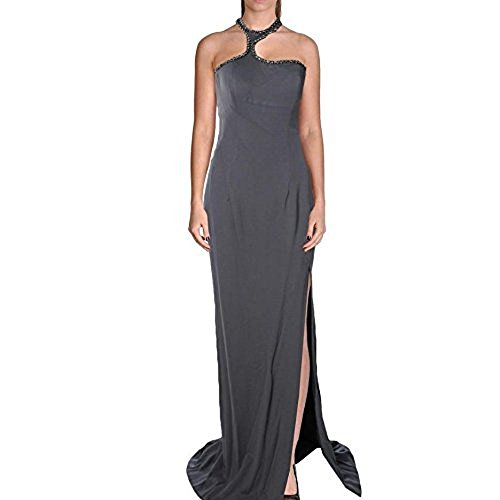 Jovani Women's Gray Formal Evening Gown, Long Dress, Prom, Formal SZ 8 New ()
