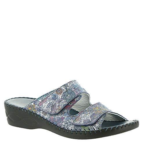David Tate Bella Diva Women's Sandal 7 B(M) US Blue