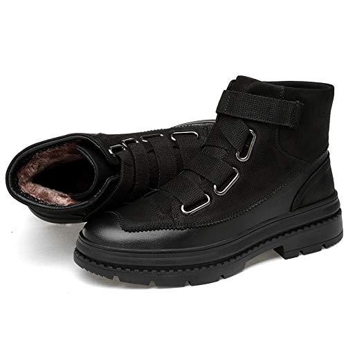 Sunny Sunny Sunny in Black EU Dimensione Gordless Opzionale Esterna Libero Pile Moda Tempo Boots Foderato Martin High Stivaletti Classico da Durevole Uomo Comfort Color alla per 42 Il Top Suola amp;Baby Warm fqF4rnf
