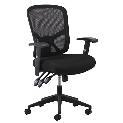 Essentials Customizable Ergonomic High-Back Mesh Task Chair with Arms and Lumbar Support - Ergonomic Computer/Office Chair (ESS-3050)